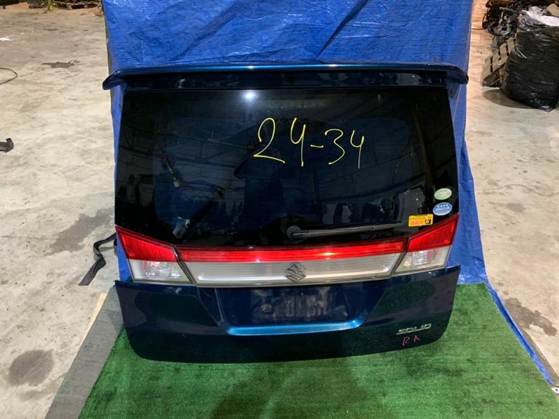 Дверь задняя багажника Suzuki Solio MA15S K12B
