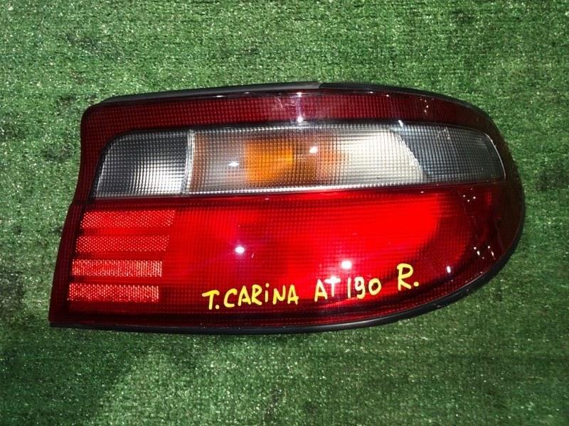 Фонарь стоп-сигнала Toyota Carina AT190 правый