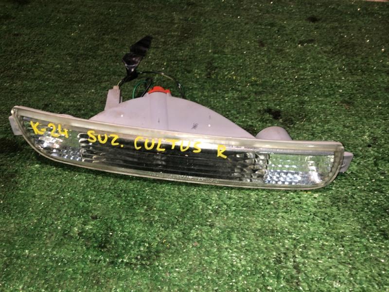 Повторитель в бампер Suzuki Cultus правый
