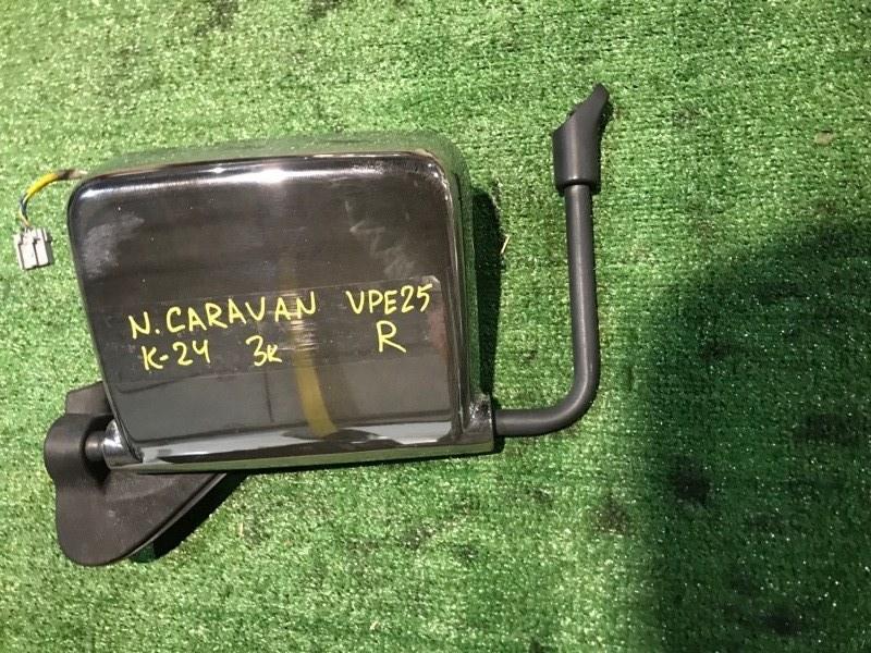 Зеркало боковое Nissan Caravan VPE25 правое