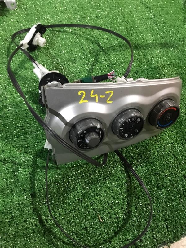 Блок управления климат-контролем Toyota Vitz SCP90 2SZ-FE