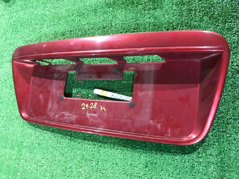 Рамка номера Mitsubishi Galant CX4A 4B11 задняя