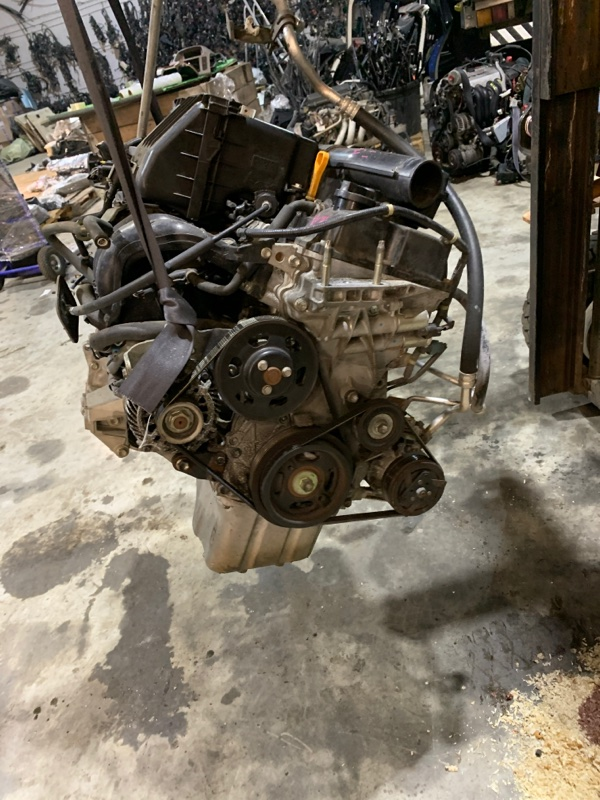 Двигатель Suzuki Solio MA15S K12B