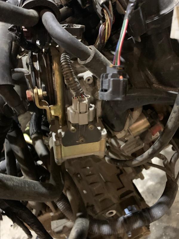 Заслонка дроссельная Mitsubishi Dion CR6W 4G94