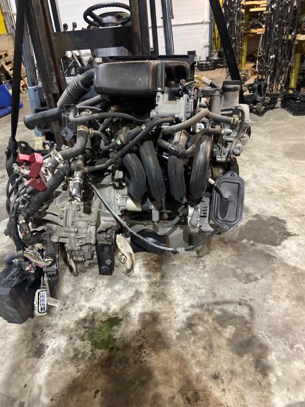 Проводка двигателя Toyota Vitz SCP90 2SZ-FE