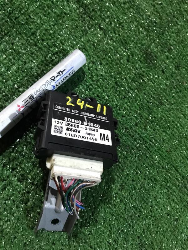 Блок управления Toyota Passo KGC15 1KR-FE