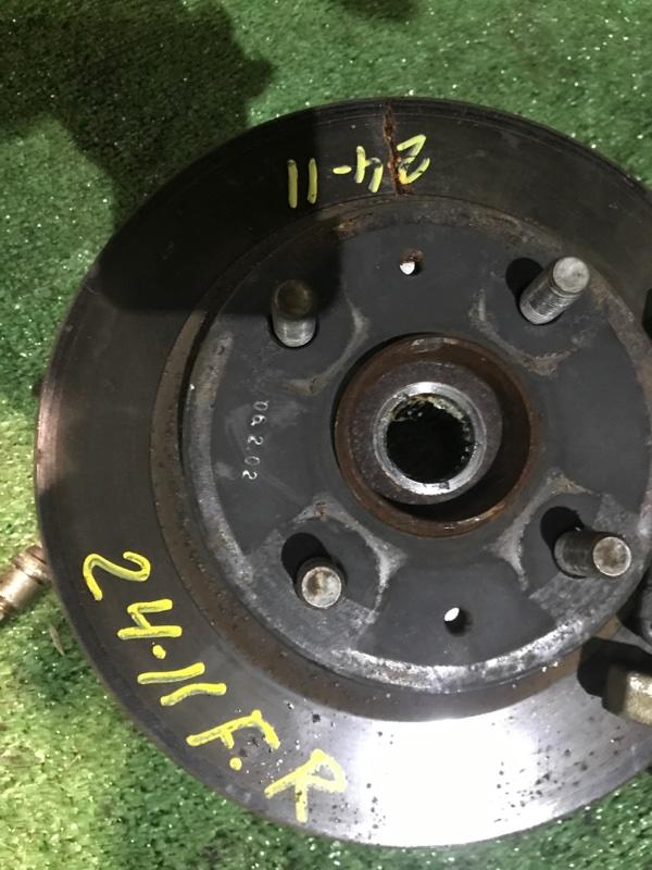 Диск тормозной Toyota Passo KGC15 1KR-FE передний правый
