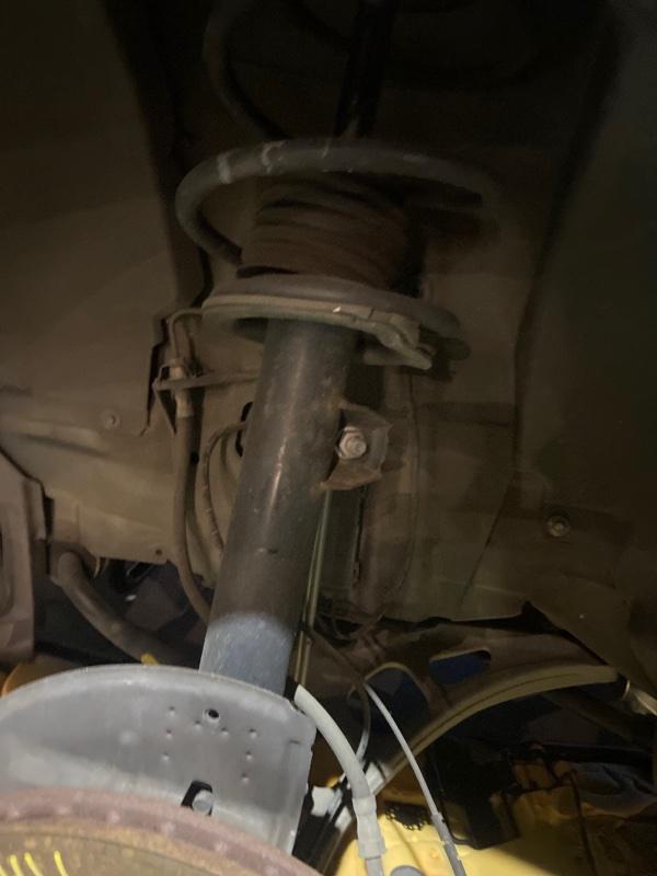 Стойка подвески Bmw 328I E46 M54B25 1998 передняя левая