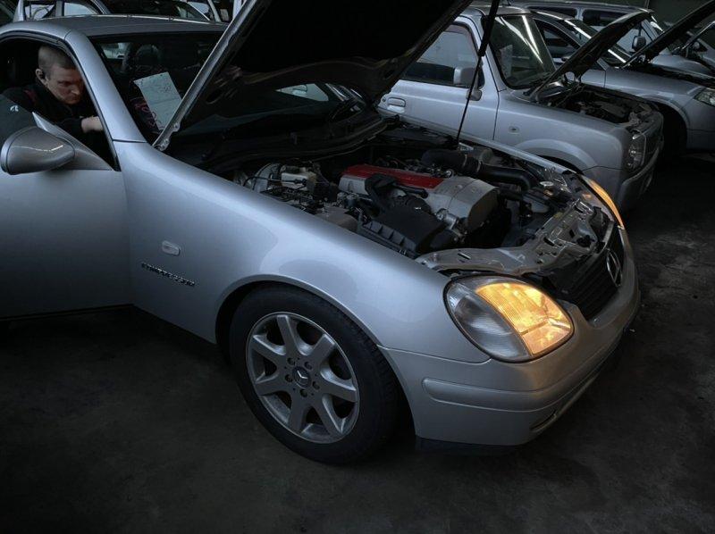 Авто на разбор Mercedes-Benz Slk 230 Kompressor 111.973 1998