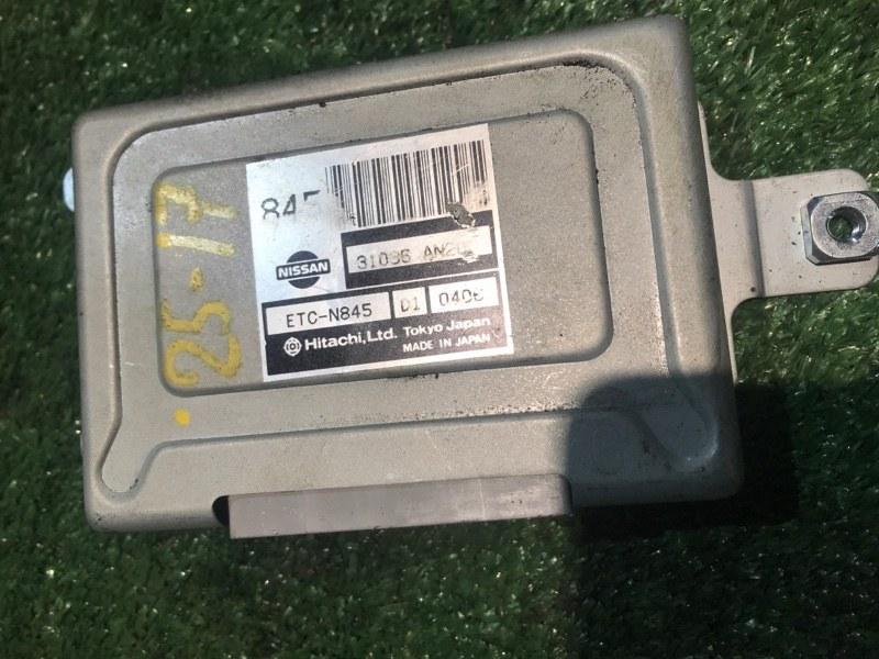 Блок управления кпп Nissan Cube AZ10 CGA3DE 2000