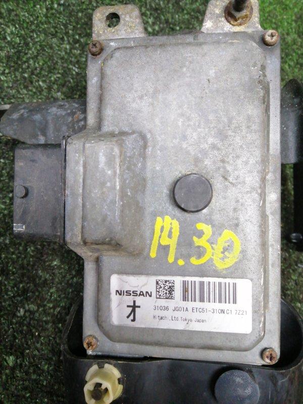 Блок управления кпп Nissan X-Trail T31 MR20DE