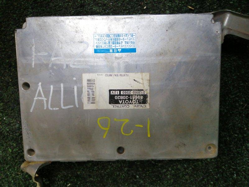 Блок управления двс Toyota Allion AZT240 1AZ-FSE