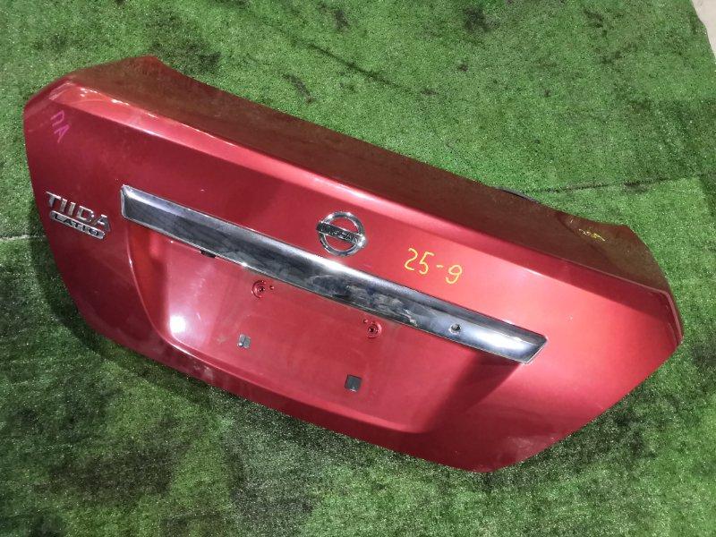 Крышка багажника Nissan Tiida SC11 HR15DE 2008