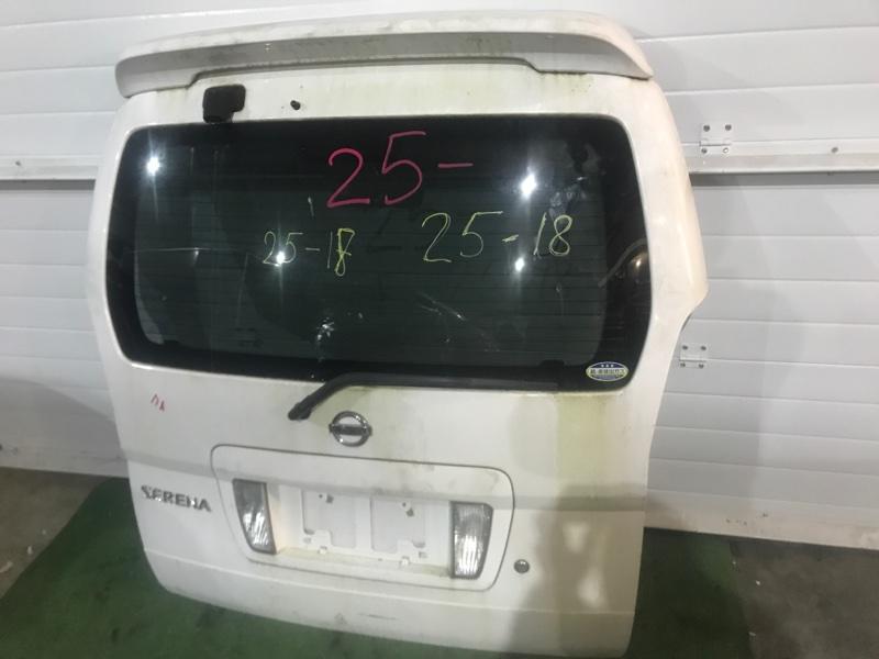 Дверь задняя багажника Nissan Serena TNC24 QR20DE