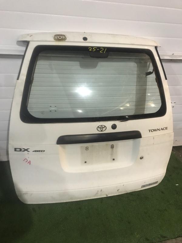 Дверь задняя багажника Toyota Townace CR52V 3C-E