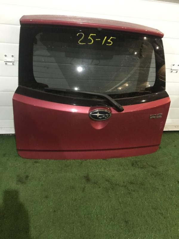 Дверь задняя багажника Subaru R2 RC1 EN07 2007