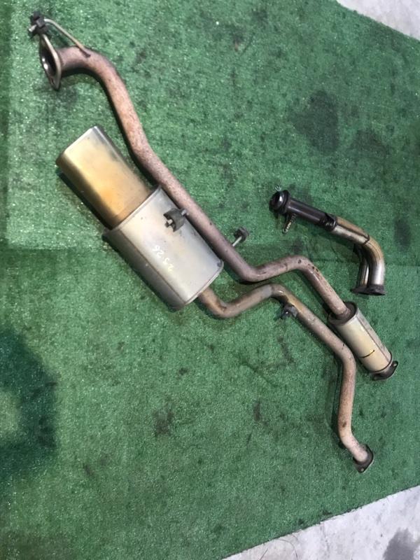 Глушитель Honda Stepwgn RF1 B20B