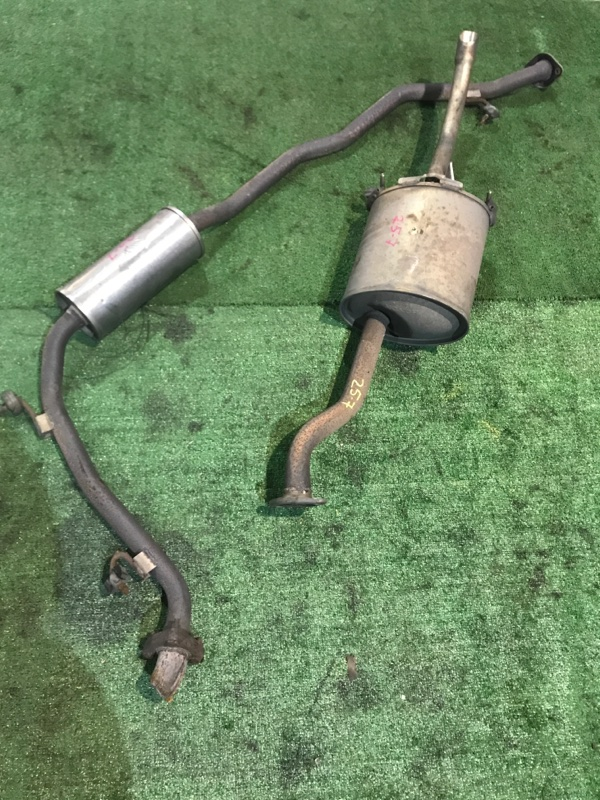 Глушитель Honda Fit Aria GD8 L15A