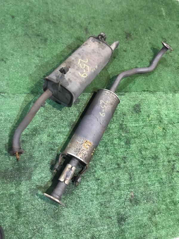 Глушитель Nissan Tiida SC11 HR15DE 2008