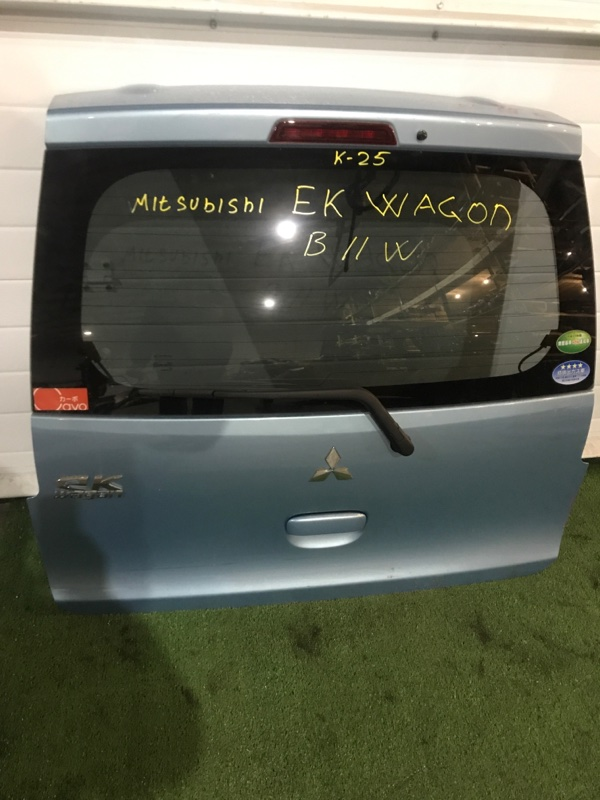 Дверь задняя багажника Mitsubishi Ek-Wagon
