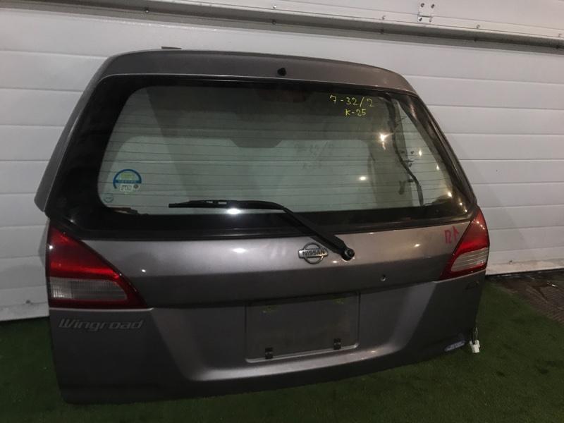 Дверь задняя багажника Nissan Wingroad WFY11 QG15DE