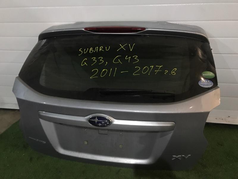 Дверь задняя багажника Subaru Xv