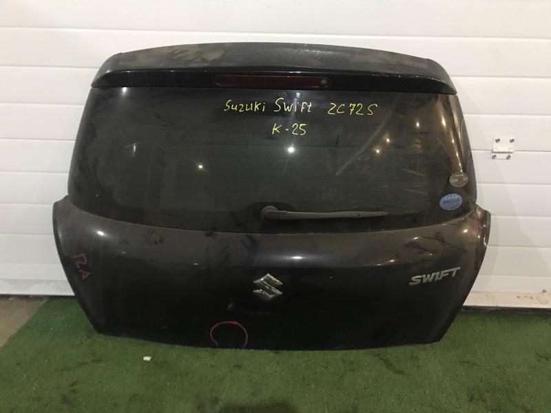 Дверь задняя багажника Suzuki Swift ZC72S