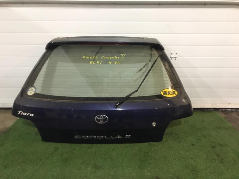 Дверь задняя багажника Toyota Corolla Ii EL51