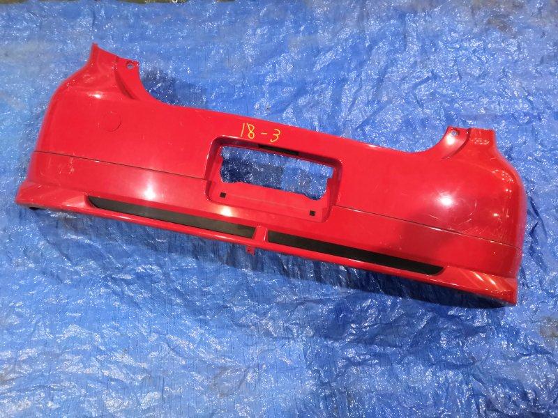 Бампер Toyota Passo KGC10 1KR-FE задний