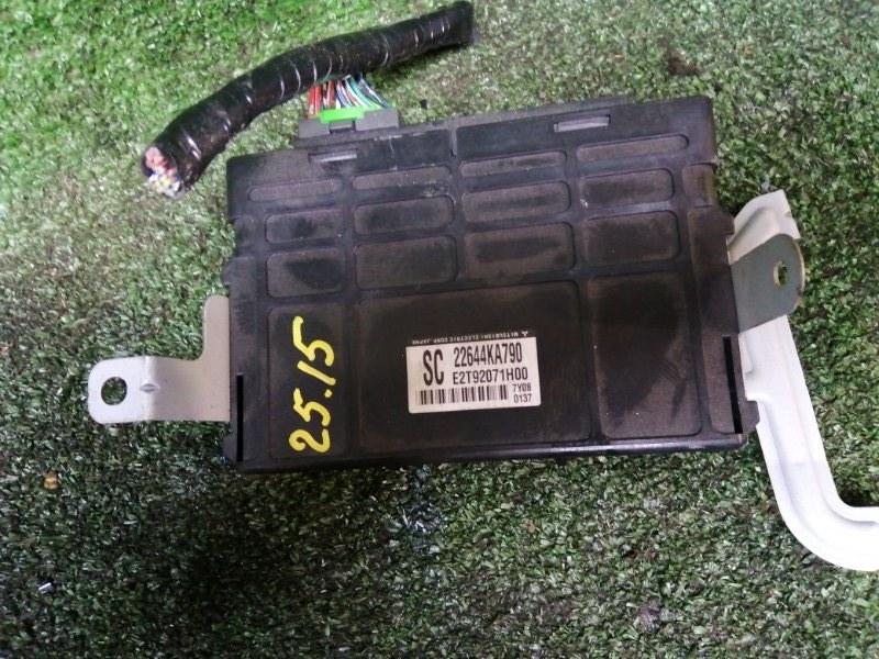 Блок управления двс Subaru R2 RC1 EN07 2007