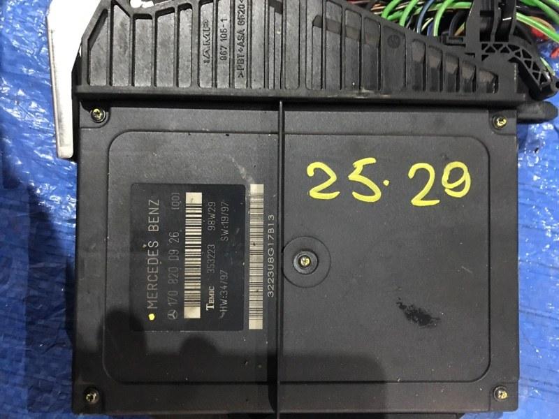 Блок управления двс Mercedes-Benz Slk 230 Kompressor 111.973