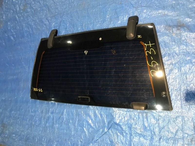 Дверь задняя багажника Isuzu Wizard UES73FW 4JX1-T