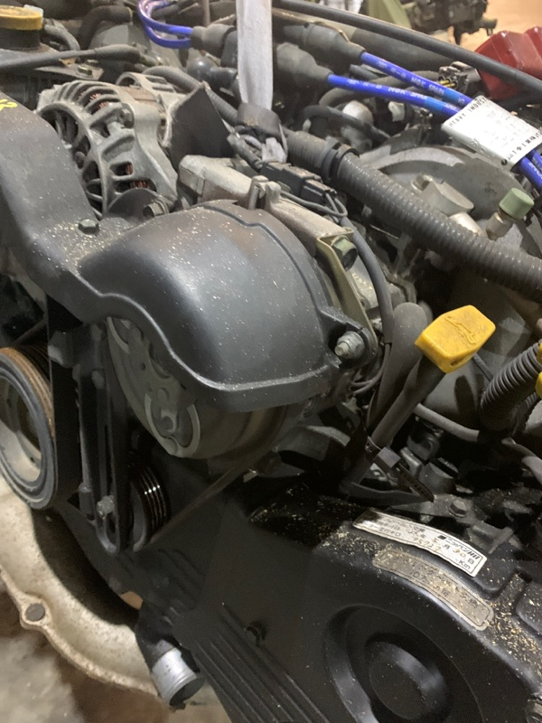 Компрессор кондиционера Subaru Forester SF5 EJ20