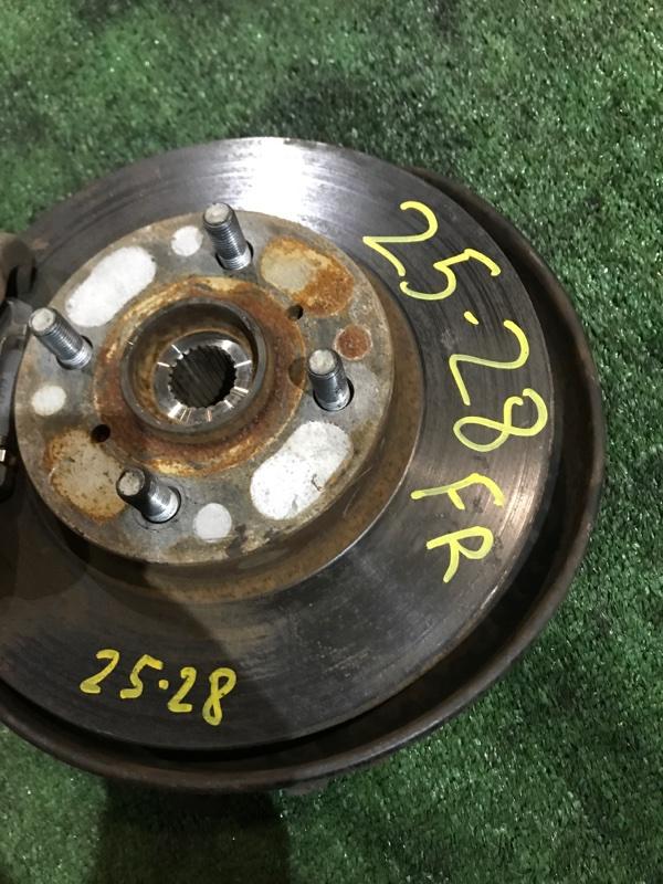 Диск тормозной Toyota Funcargo NCP20 2NZ-FE передний правый
