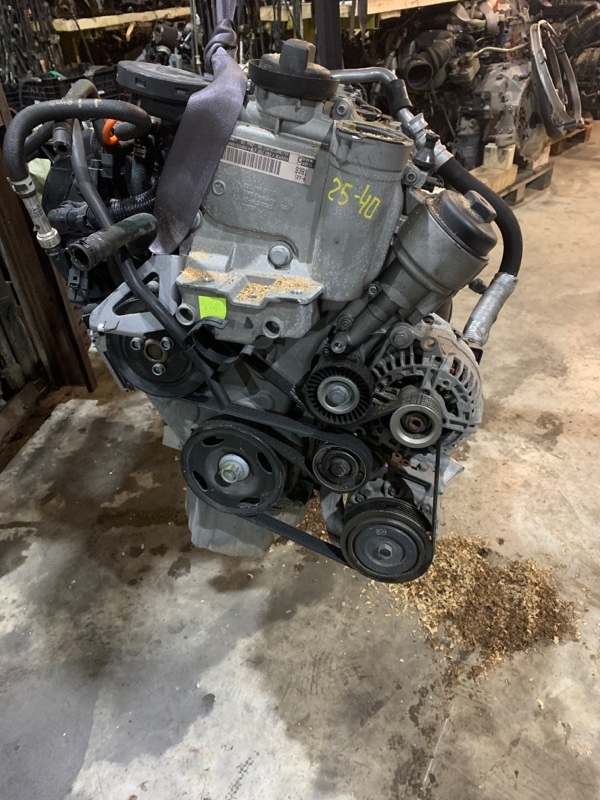 Двигатель Volkswagen Golf BLF 2006