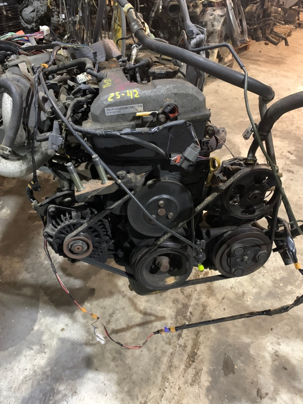 Двигатель Mazda Familia BJ5P ZL