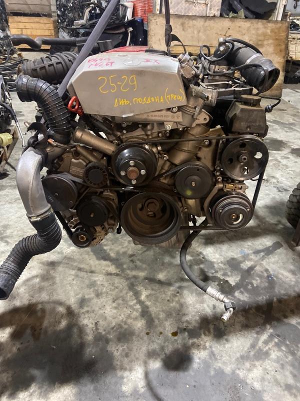 Двигатель Mercedes-Benz Slk 230 Kompressor 111.973 1998