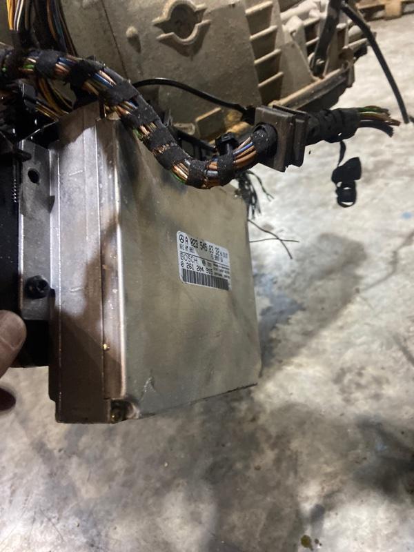 Блок управления двс Mercedes-Benz Slk 230 Kompressor 111.973 1998