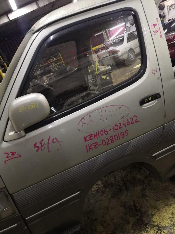 Дверь боковая Toyota Hiace KZH106W 1KZ-TE передняя левая