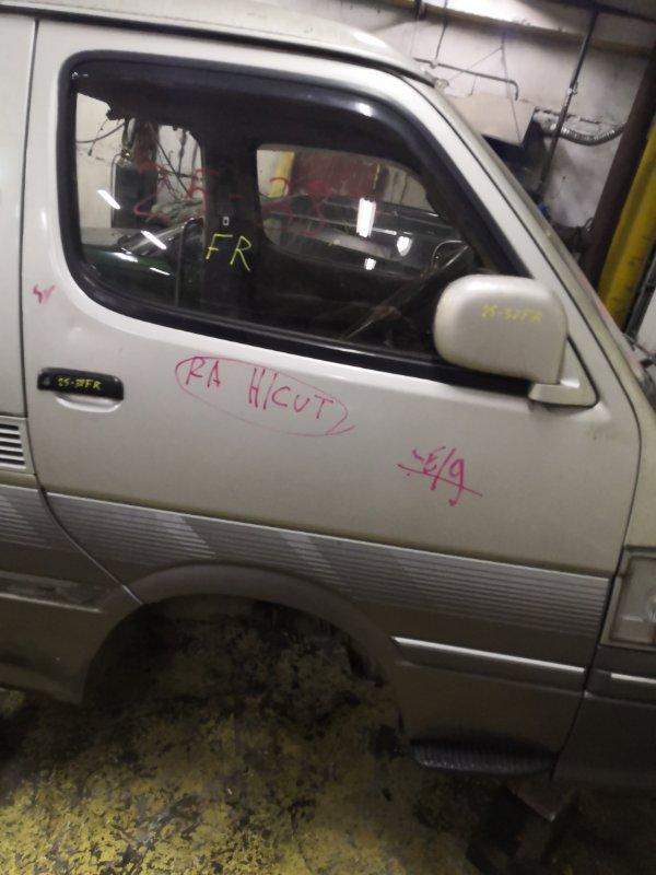 Дверь боковая Toyota Hiace KZH106W 1KZ-TE передняя правая