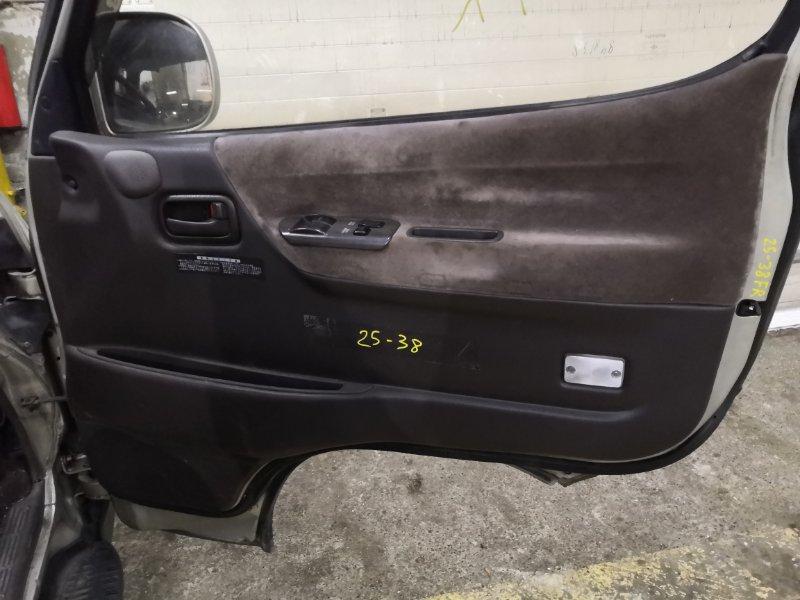 Обшивка двери Toyota Hiace KZH106W 1KZ-TE передняя