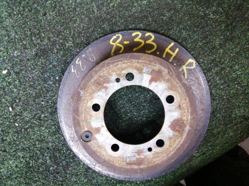 Диск тормозной Mitsubishi Lancer Cedia CS5W 4G93 задний правый
