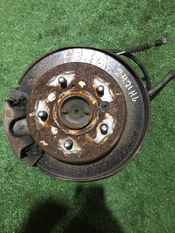 Диск тормозной Toyota Windom MCV21 2MZ-FE задний левый