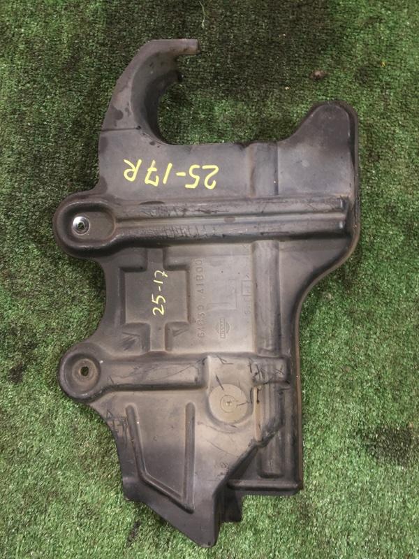 Защита двс Nissan Cube AZ10 CGA3DE правая