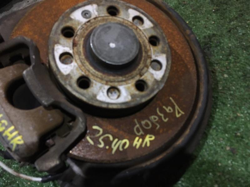 Диск тормозной Volkswagen Golf BLF 2006 задний правый