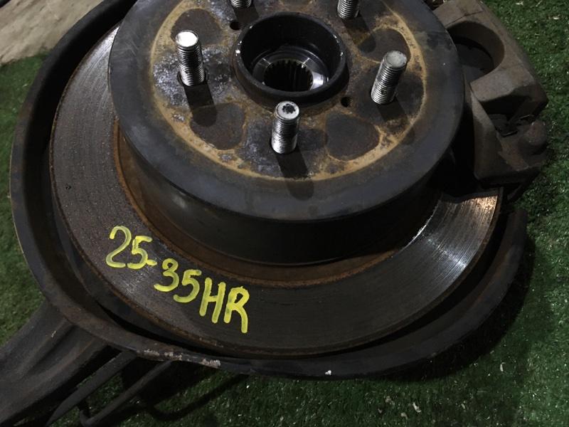 Диск тормозной Subaru Legacy BP5 EJ203 задний правый
