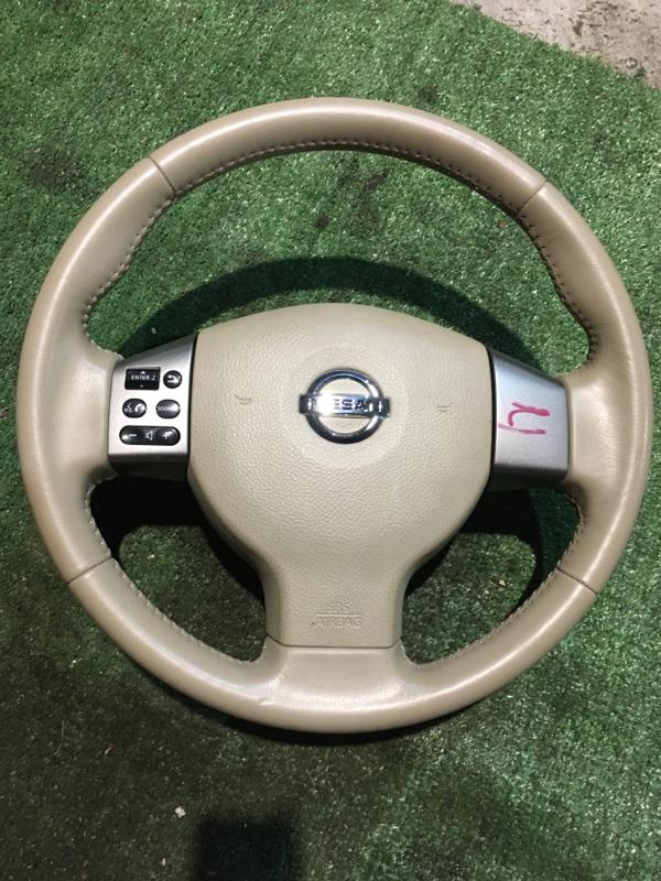 Руль Nissan Tiida C11 HR15DE