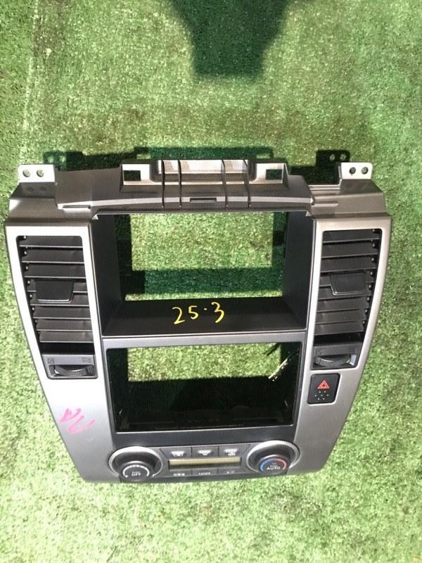 Блок управления климат-контролем Nissan Tiida C11 HR15DE 2008