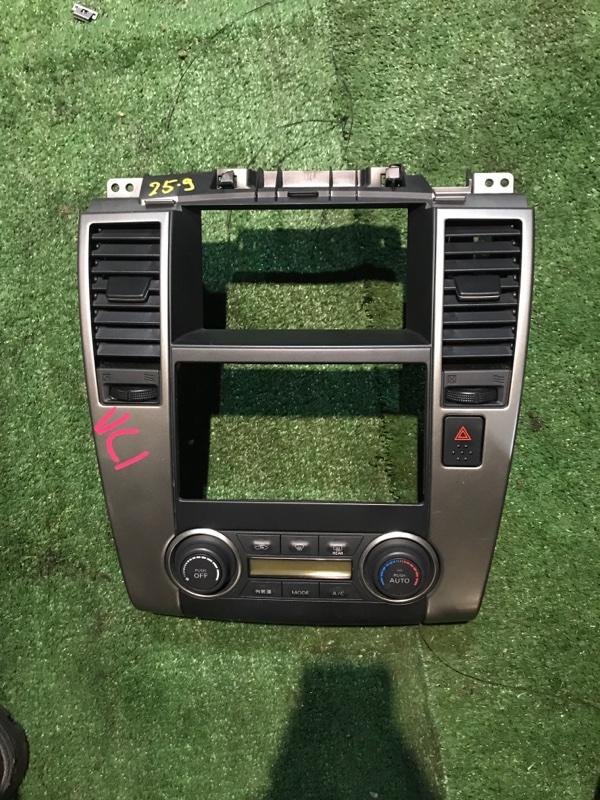 Блок управления климат-контролем Nissan Tiida SC11 HR15DE 2008