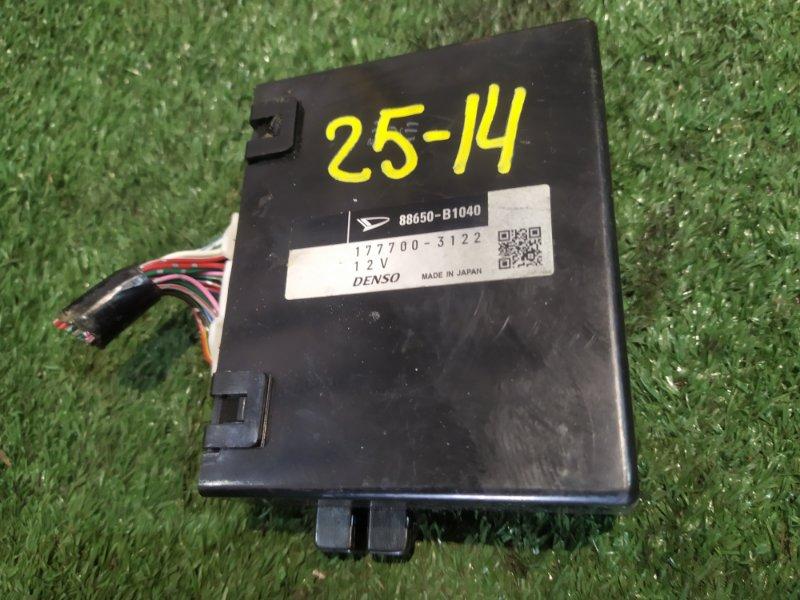 Блок управления двс Daihatsu Boon M610S 1KR-FE